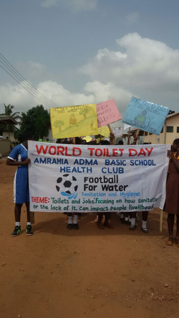 World Toilet Day At Adenta